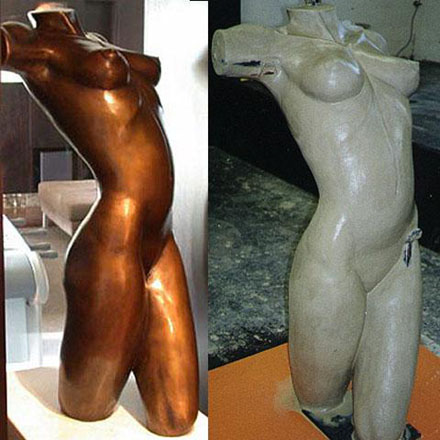 Life size Nude front